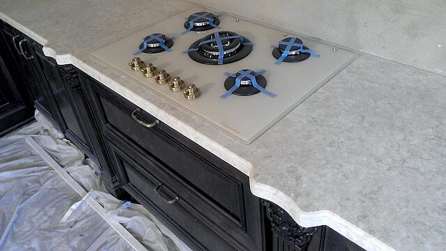 Кухонная столешница из искусственного камня antarrid