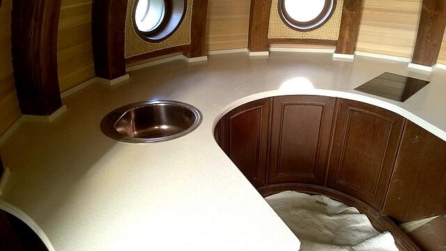 Каменная столешница antarrid для кухни
